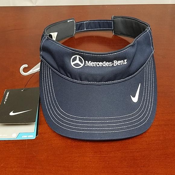 ff383ea0074ad2 Nike Accessories | Nwt Golfmercedes Benz Visor Hat | Poshmark